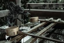 神社の手水所