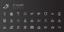 Alert Icons Set