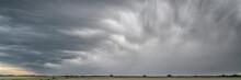Heavy Storm Clouds And Rain Ov...