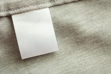 White Blank Laundry Care Cloth...