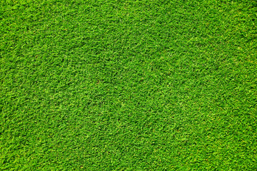 Artificial grass background , close up