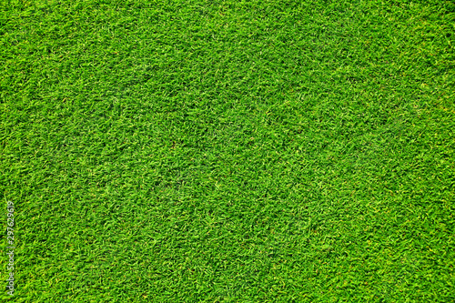 Artificial grass background , close up - 297629619