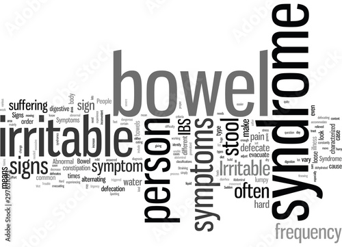 Irritable Bowel Syndrome Signs And Symptoms Wallpaper Mural
