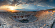 Amphitheater In Ancient City O...