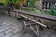 Antique Iron Plow Share. Decorative Product. Hand Made.