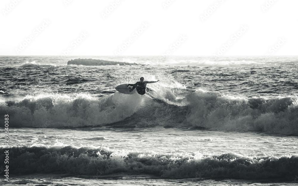 Fototapeta Surfing