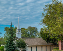 Country Church Roadside