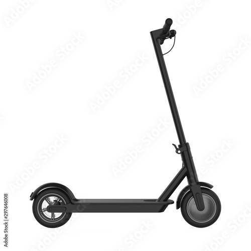 Electric Scooter Isolated Wall mural