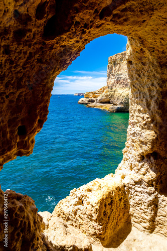 Cuadros en Lienzo Algar Seco Carvoeiro à l'Algarve au Portugal