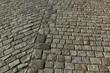 Masonry mortar joint cobblestone pavements