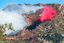 Drop Brush Fire Calfire LAFD