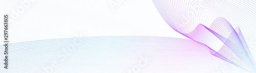 Fotografering  Blue, purple watermark for website banner, certificate, cheque, ticket, voucher, gift card