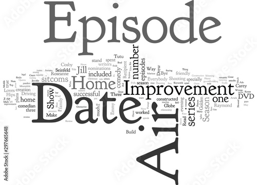 Fotografie, Tablou Home Improvement Season DVD Review