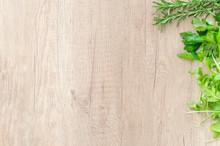 Closeup Brown Wooden Wood Chop...