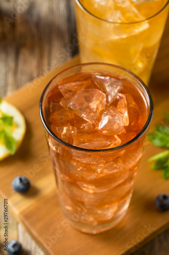 Cool Refreshing Flavored Berry Iced Teas