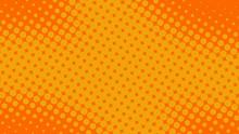 Fun Yellow And Orange Pop Art ...
