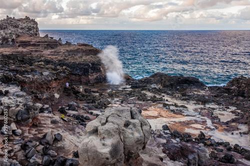 Valokuvatapetti Nakalele Blowhole