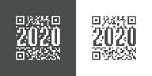 Logotipo Año 2020 En Código ...