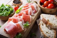 Raw Ham, Italian Prosciutto Crudo