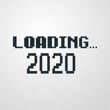 Logotipo Texto LOADING 2020 Co...