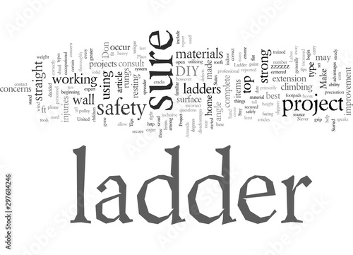 Photo DIY Ladder Safety Tips