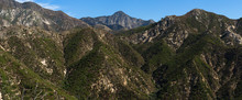 Panorama Of The San Gabriel Mo...
