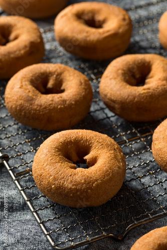 Fotografiet  Homemade Sweet Cake Donuts