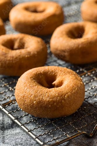 Canvastavla  Homemade Sweet Cake Donuts