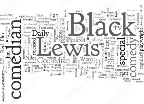 Tablou Canvas comedian lewis black