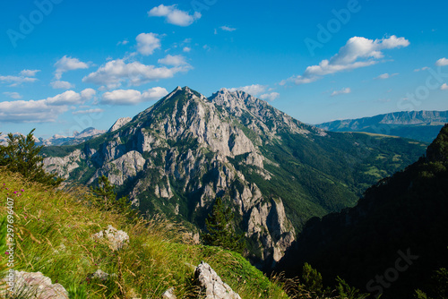 Photo mountain in the alps