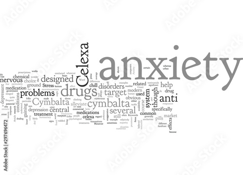 Celexa And Cymbalta As Anxiety Treatments Canvas Print