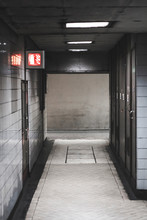 Dark And Dingy Passageway With...