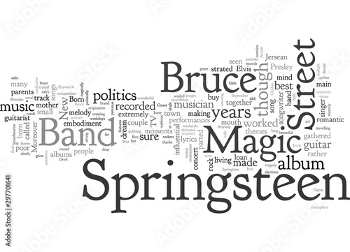 Photo Bruce Springsteen Magic