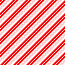 Christmas Candy Cane Stripes S...