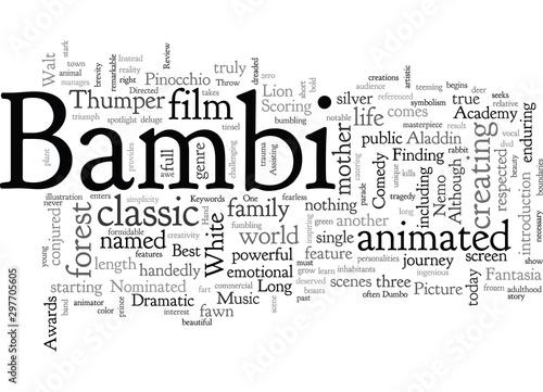 Bambi DVD Review Fototapet