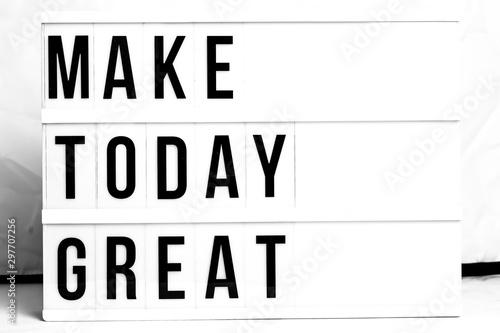 Fotografía  Motivational Business start up board