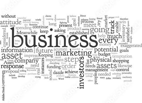 Asset And Your Business Wallpaper Mural