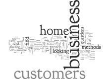 Are You Aware Of Your Home Business Customers Needs