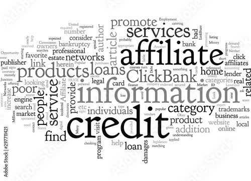 Affiliate Opportunity The Bad Credit Market Wallpaper Mural