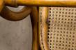 Leinwanddruck Bild - Antique rocking chair, over 100 years old