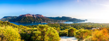 Panoramic View Of Vulcano In T...