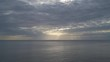 Sunset over the sea on a cloudy summer day, Izu Peninsula, Japan
