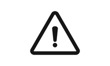 Exclamation Mark Icon Vector