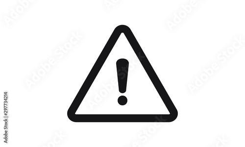 exclamation mark icon vector Fototapete