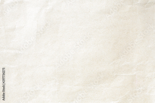 Soft brown crumpled winkle detail background paper texture Fototapet