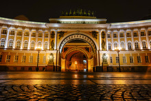 St Petersburg, Russia Palace S...