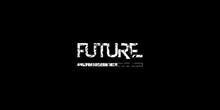 Future Loading, Progress Bar, Techno Design, Rough Texture.