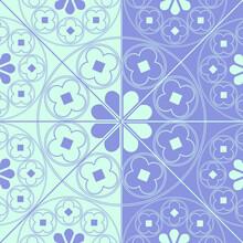 Floral Medieval Pattern Backgr...