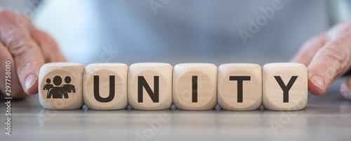 Fototapety, obrazy: Concept of unity