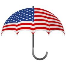 United States Flag Umbrella